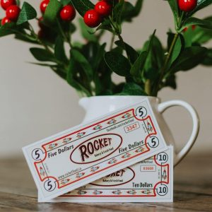 Rocket Bucks Gift Certificates