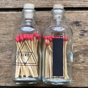 "Apothecary ""Fire"" Matches"
